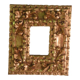 Peruvian Giltwood Accent Mirror
