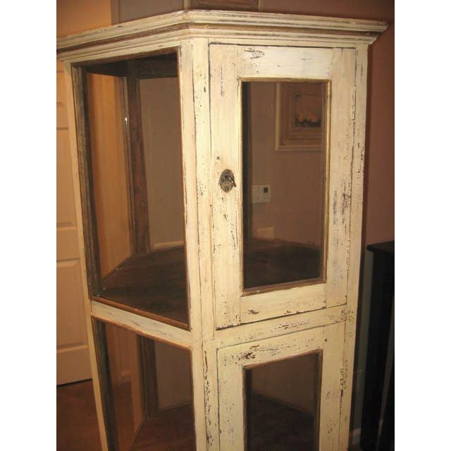 Pine Wood Curio Display Cabinet - Image 4 of 7