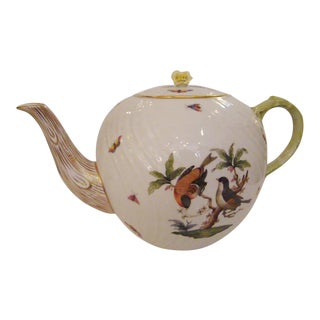 Herend Rothschild Bird Teapot
