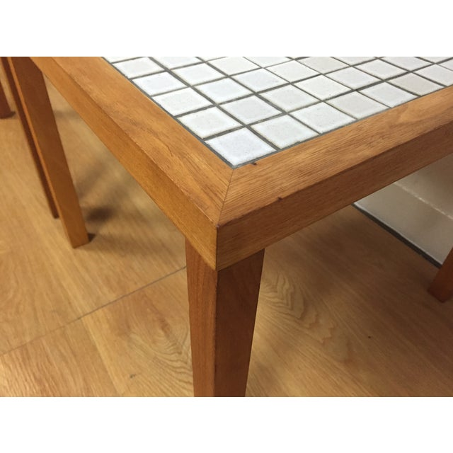 MCM Teak & Tile End Tables - A Pair - Image 7 of 7