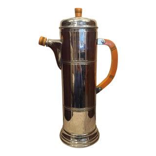 1940 Art Deco Cocktail Shaker