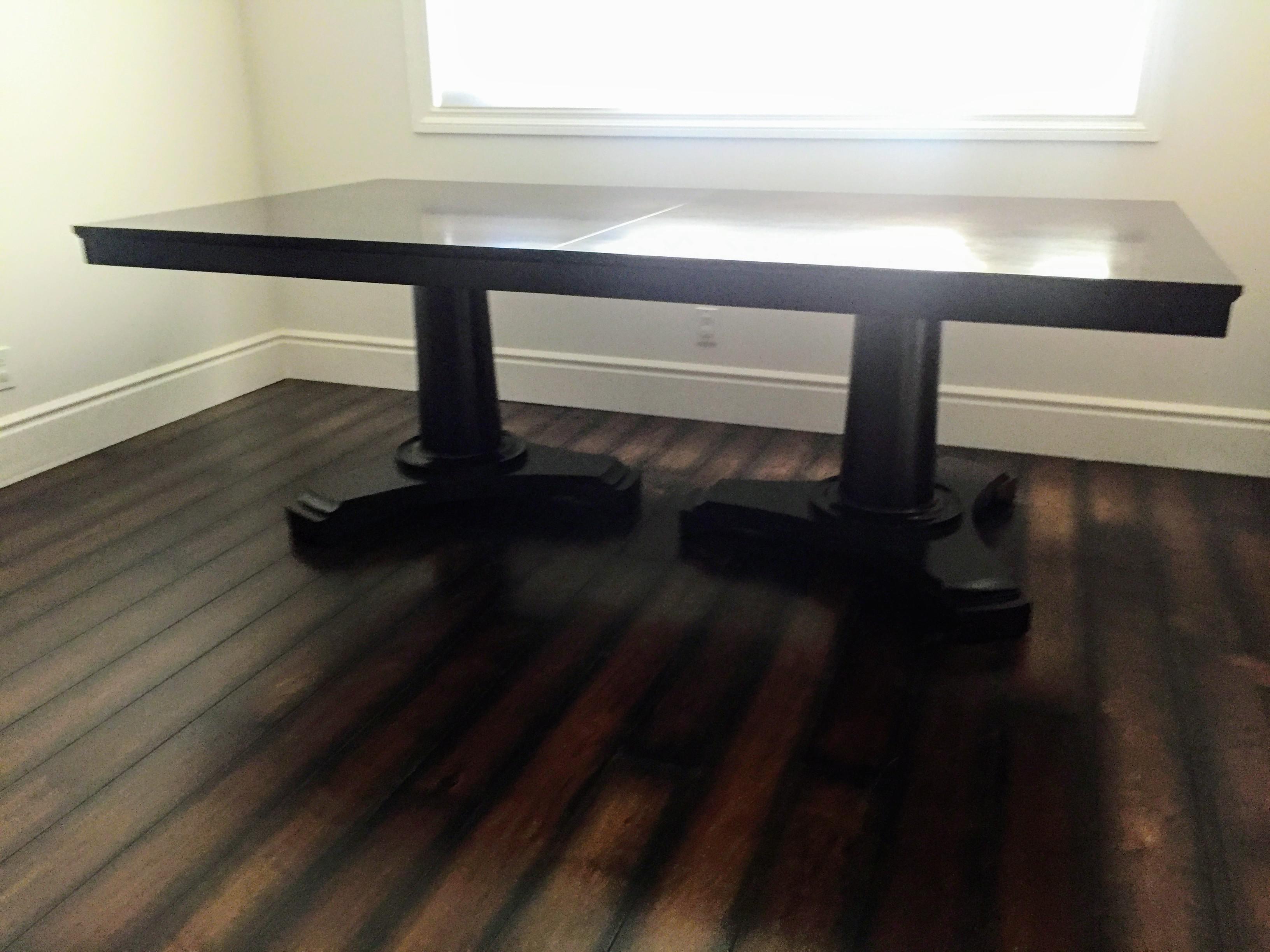 Restoration Hardware Portman Espresso Dining Table Chairish : 1ca61610 62f3 4949 ac40 5eaf30bd0103aspectfitampwidth640ampheight640 from www.chairish.com size 640 x 640 jpeg 30kB