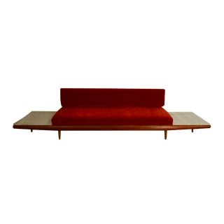 Adrian Pearsall Gondola Sofa With End Tables