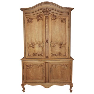 French Bleached Oak Cabinet