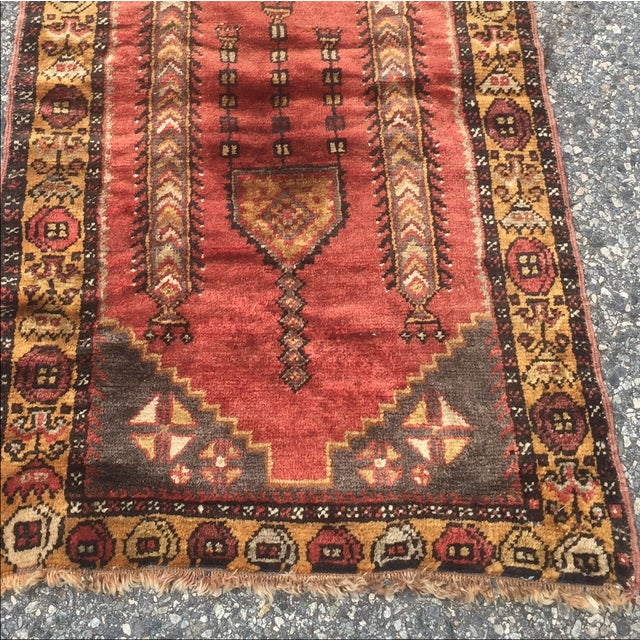 Red And Brown Anatolian Persian Rug