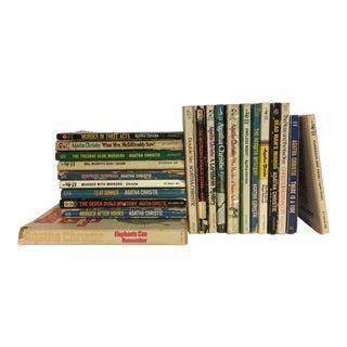 Agatha Christie Vintage Mystery Books - Set of 20