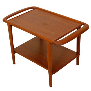Niels Moller Danish Modern Teak Side Table