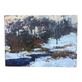 Contemporary Bucks County Landscape Painting by David Hahn