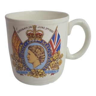 Myott Queen Elizabeth Coranation Mug