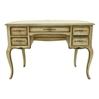 French Style Cream Writing Desk