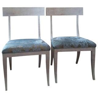 Sublime Niermann Weeks Elgin Side Chairs - A Pair
