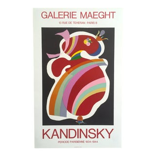 "Kandinsky ""Periode Parisienne Galerie Maeght"" Lithograph"
