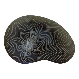Bimorphic Smoky Glass Decorative Bowl