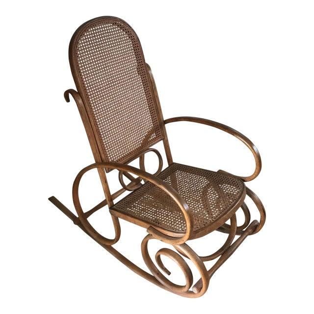 Spanish Bentwood Rocking Chair Rocker - Image 1 of 10