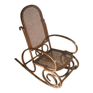 Spanish Bentwood Rocking Chair Rocker