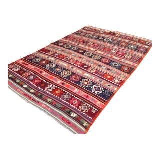 Traditional Anatolian Rug - 5′ × 7′7″