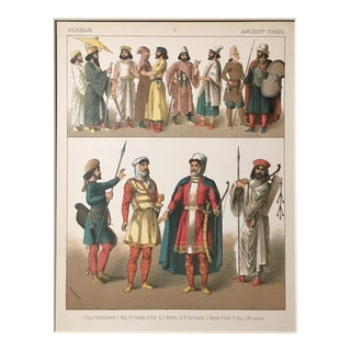 """Persian Ancient Times"" Costume Print"