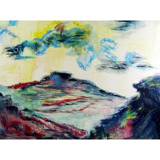 Fauvist Landscape Oil Painting