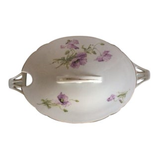 Schlaggenwald Czech Covered Vegetable Bowl