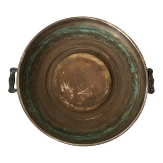 Vintage Copper Tray With Patina