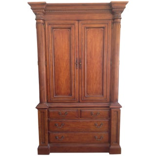 "Hickory White ""Hampton Roads"" Armoire"