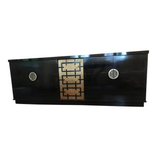 Black & Yellow Art Deco Buffet