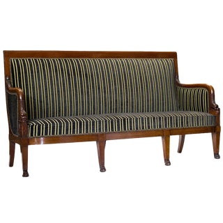 Empire Mahogany Settee
