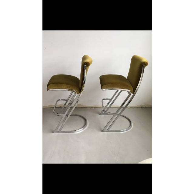 1970's Pierre Cardin Bar Stools - A Pair - Image 3 of 6