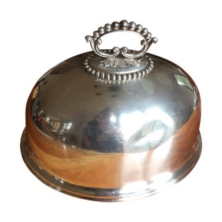 Mappin & Webbm Silver Plate Meat Dome