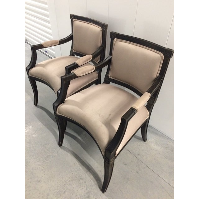 Trouvailles Furniture Dining Chairs - Set of 8 - Image 3 of 10