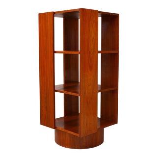 Danish Revolving Bookcase