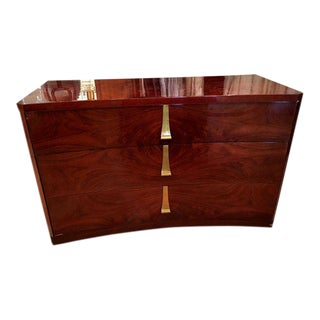 Art Deco Mahogany Commode Chest of Drawers