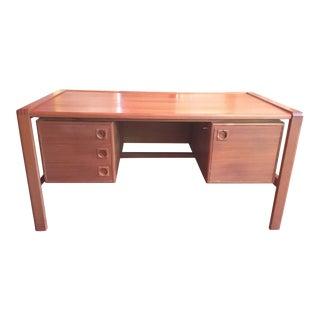 Mid-Century Modern H.P. Hansen Teak Desk