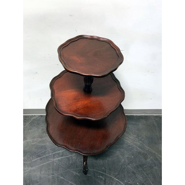 Vintage Mersman 3-Tier Mahogany Table - Image 4 of 10