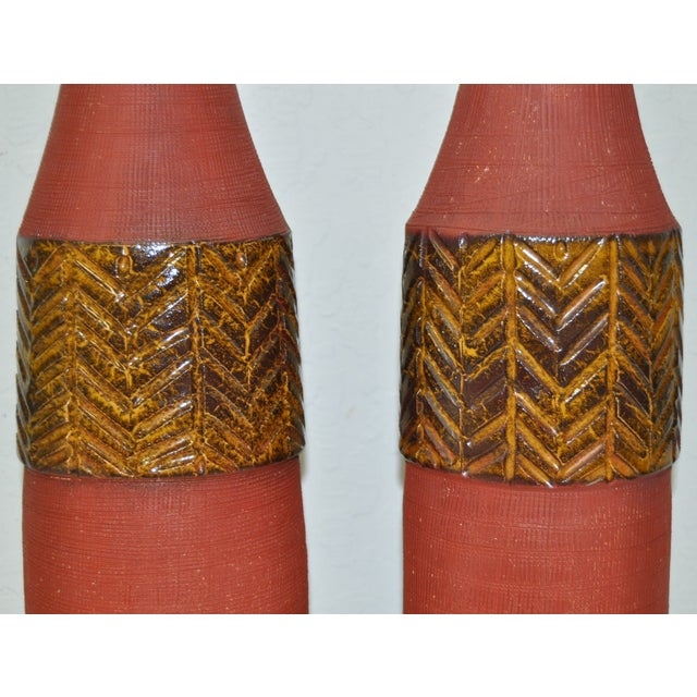 Image of Vintage Italian Raymor Table Lamps C.1950's - Pair