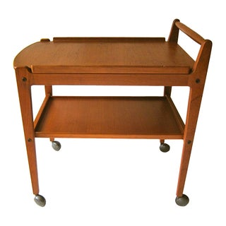 Original Artie Mid Century Swedish Bar Cart