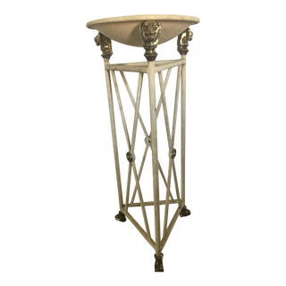 Neoclassic Style Pedestal Table or Planter