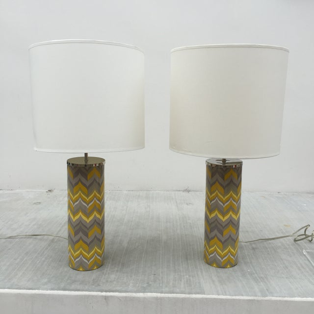 Image of Jonathan Adler Lamps - A Pair