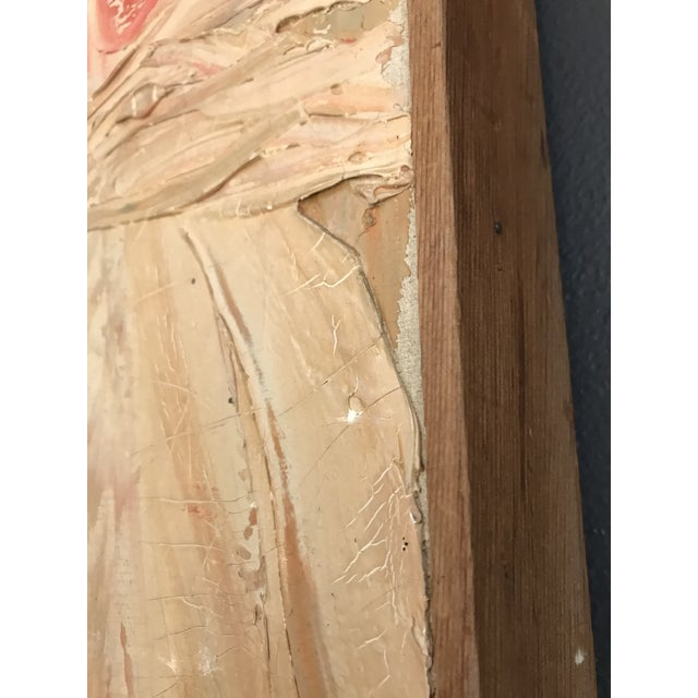1961 Signed Abstract Expressionist Oil on Canvas Painting - Image 5 of 8