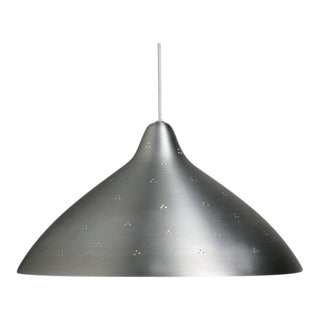 Lisa Johansson-Pape for Innolux Perforated Silver Pendant Light
