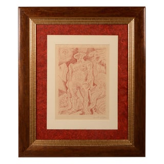 Le Septieme Chant 1 Signed Engraving by Andre Masson