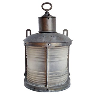 Vintage Marine Ship Light
