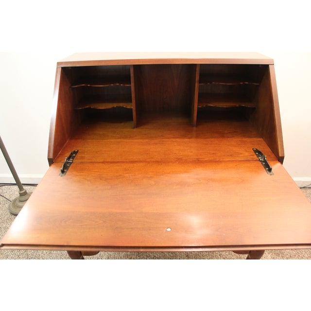 Traditional Queen Anne Cherry Secretary/Desk - Image 8 of 11