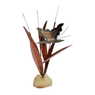 Mid-Century Butterfly Sculpture