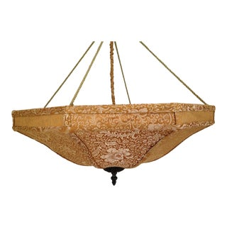 Fortuny-Style Light Fixture