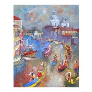 "Murat Kaboulov ""Venice"" Oil Painting"