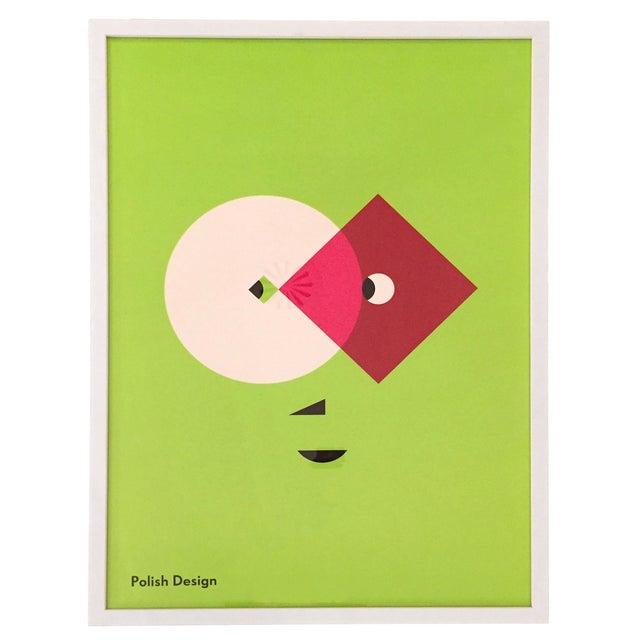 Modern Polish Design Print- Print Only, No Frame - Image 1 of 4