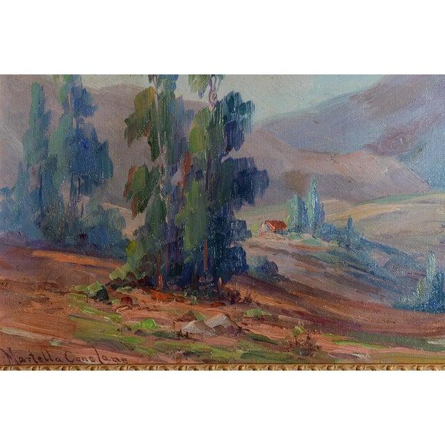 Martella Cone Lane -California Landscape -Oil Painting -Impressionist C.1920s - Image 7 of 10