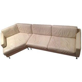 BoConcept Beige Leather Sectional