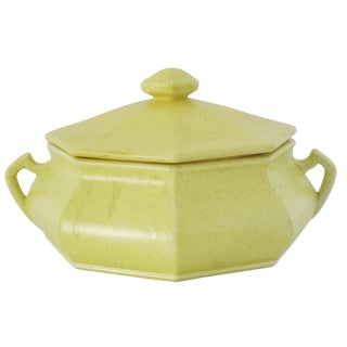 Lemon Yellow Soup Tureen